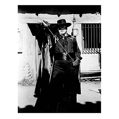 guy-williams-as-zorro-sheathing-sword-in-front-of-building-8-x-10-inch-photo