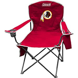 NFL Redskins Cooler Quad Chair