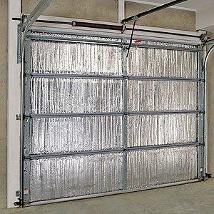 Single sided garage door insulation kit for Single garage kit