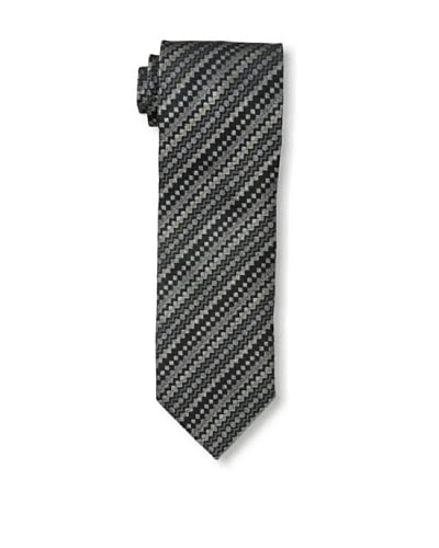 Missoni Men's Diamond Stripe Tie, Black/Gray