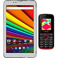 I KALL N3 Inbuilt Speaker Tablet With K11(Red) Dual Sim Feature Phone