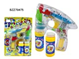 LED Bubble Gun - Funny Play Set - Battery Operated - Background Design may vary