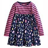 Joules Jnr Hayley Mix & Match Dress - Horsey Dolly Mixture - 6 Years
