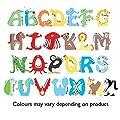 Personalised Animal Alphabet Boys Clock - Any name!