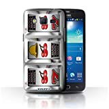 STUFF4 Phone Case Cover for Samsung Galaxy Win ProG3812 Cherries Design Slot Machine Collection