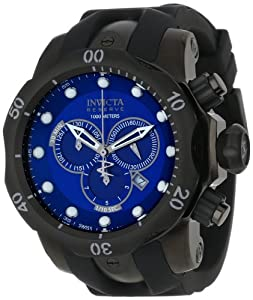 Invicta Men's F0003 Reserve Collection Venom Chronograph Gunmetal Ion-Plated Watch
