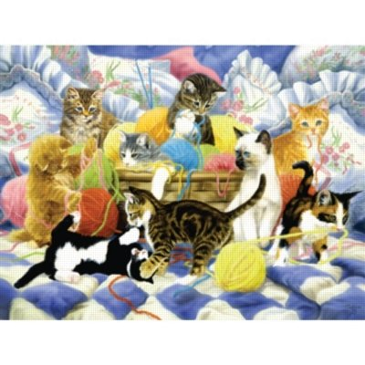 Cheap SunsOut Yarn Party Tonight! 500pc Jigsaw Puzzle by Linda Picken (B0052TOF0K)