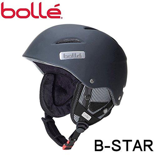 BOLLE(ボレー)ヘルメット  B-STAR(ビースター) ソフトブラック (15-16 15/16 2016) スキー L(58-61cm)