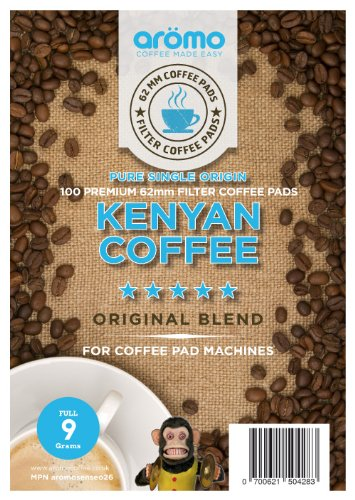 Choose KENYAN Senseo compatible Coffee pods - aromo