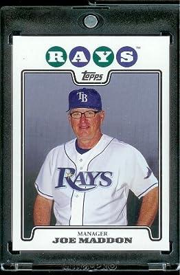 2008 Topps # 473 Joe Madden - Tampa Bay Rays - MLB Baseball Trading Card