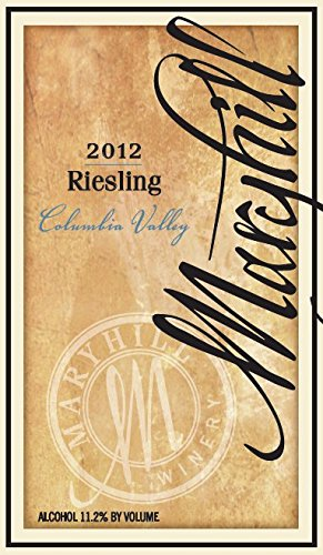 2012 Maryhill Winery Riesling 750 Ml