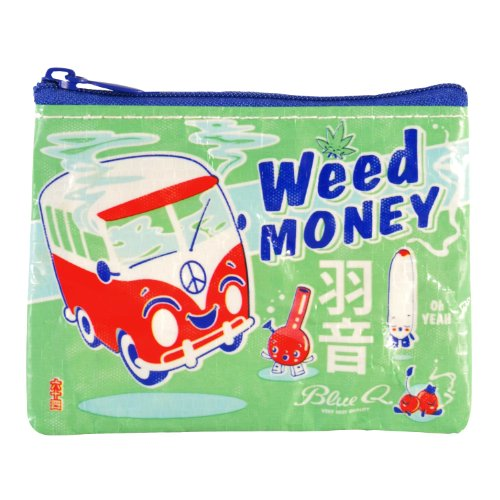 Blue Q - Weed Money Coin Purse (Vintage Coin Purse compare prices)