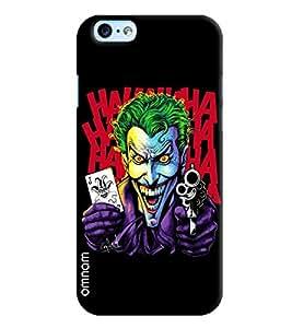 Omnam Joker Holding Gun Printed Designer Back Cover Case For Apple iPhone 6/6s
