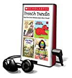 img - for Scholastic French Bundle: How Do Dinosaurs Say Goodnight?/Clifford, the Big Red Dog/Is Your Mama a Llama?/A Bad Case of Stripes [With Earbuds] (French Edition) book / textbook / text book