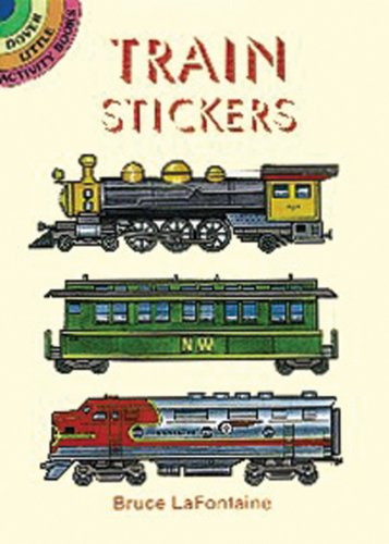 Dover Publishing Little Activity Books: Train Stickers