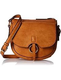 Accessorize Sling Bag Women's Sling Bag (Tan)