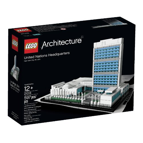 LEGO Architecture United Nations Headquarters Amazon.com