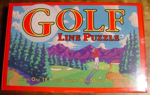 Golf Line Puzzle - This is One 18 Hole Course You Might Not Finish by Binary Arts