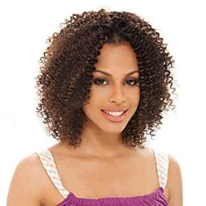 BOHEMIAN CURL 12'' - Shake N Go Freetress Equal Synthetic Hair Weave Extensions #1B Off Black