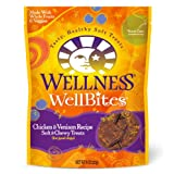 Wellness WellBites Chicken and Venison Recipe Dog Treats, 8-Ounce Pouch