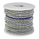 Ball Chain #3 Spool Aluminum 100 Feet