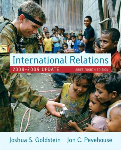 International Relations, 2008-2009 Update, Brief Edition Value Package (includes MyPoliSciKit Student Access  for Intern