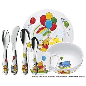 """WMF 1283509974 Kinderset """"Winnie Pooh"""" 7-teilig ohne individuelle Gravur"""