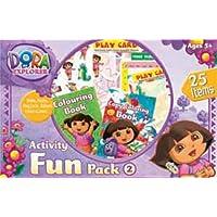Dora The Explorer Activity Fun Pack-2, Multi Color