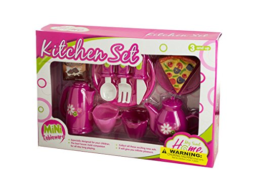 Mini Kitchen Play Set with Food , Kid ,Toy , Hobbie , Nice Gift