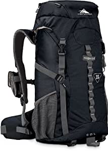 High Sierra Classic Series 59101 Col 35 Internal Frame Pack Black 24.25x13.25x8.25 inches 2135 Cubic Inches 35 Liters