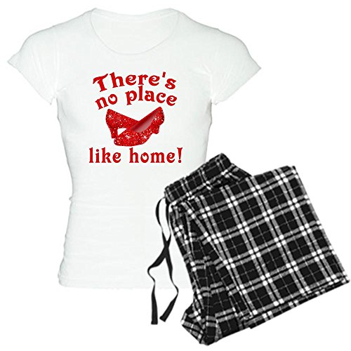 CafePress No Place Like Home Ruby Slippers Women's Light Paj Women's Light