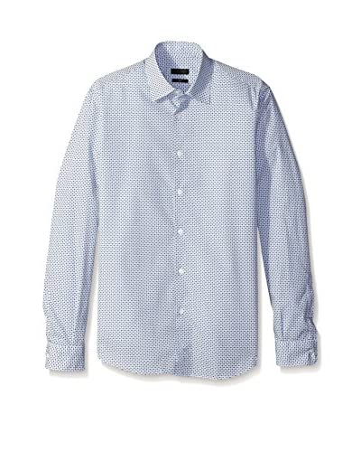 Ermenegildo Zegna Men's Allover Print Shirt