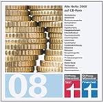 test und FINANZtest Archiv 2008. CD-R...