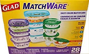 glad ware matchware containers including dressing bilhslm