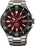 [オリエント]ORIENT 腕時計 M-FORCE  エムフォース ダイバーズウォッチ 200m空気潜水(JIS1種) レッド WV0161EL メンズ
