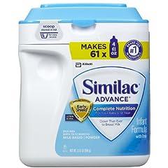 Similac 鉄分入り粉ミルク 962gの商品イメージ