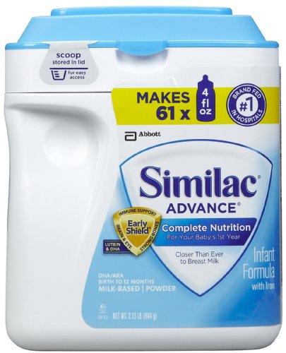 Similac Advance Earlyshield Powder, 34 Ounce