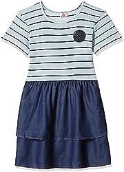 UFO Girls' Dress (AW16-KF-GKT-364_Ecru_2 - 3 years)