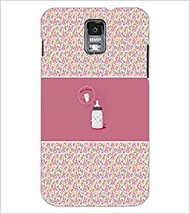 PrintDhaba Funny Image D-4156 Back Case Cover for SAMSUNG GALAXY S5 (Multi-Coloured)
