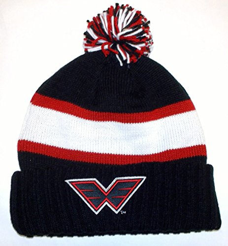 NLL Philadelphia Wings Cuffed with Pom Reebok Knit Hat - Osfa - KH59Z