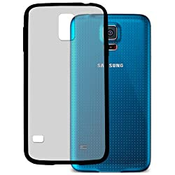 HHI Frosted S5 Shield Cushion Case For Samsung Galaxy S5 - Black