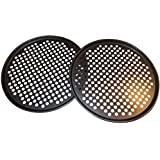SET OF 2 PIZZA PANS with holes 13 inch - Professional restaurant type pizza at home