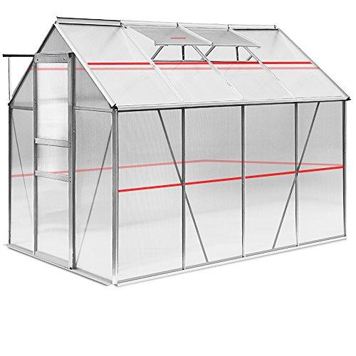 deuba aluminium gew chshaus alu m3 im test. Black Bedroom Furniture Sets. Home Design Ideas