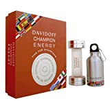 Davidoff Champion Energy Eau de Toilette Plus Sports Flask Gift Set - 90 ml