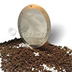 Espresso Machine Filters Stainless Steel Ultra Fine Filter Disc Reusable for Aeropress Coffee Maker from Cafe De Paris