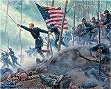 Chamberlain's Charge Civil War 1000 piece Jigsaw Puzzle White Mountain