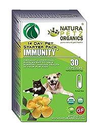 Natura Petz Organics  Immunity Starter Pack for Dogs and Cats