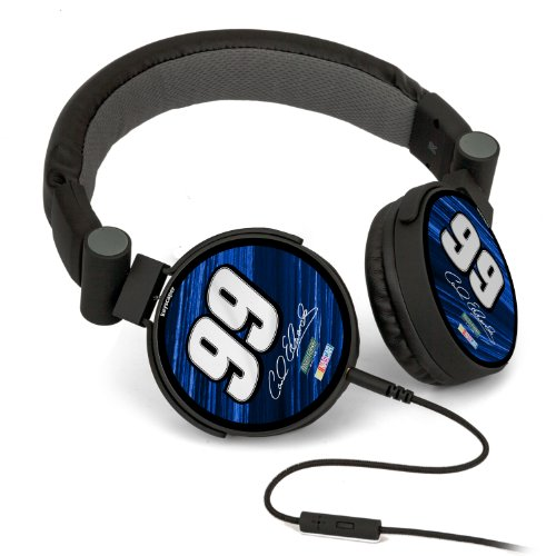 Nascar Carl Edwards 99 Fastenal Dj Style Headphones