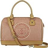 Love Moschino Faux Leather Logo Handbag
