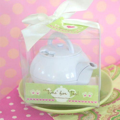 Wedding Favors Time For Tea Teapot Timer